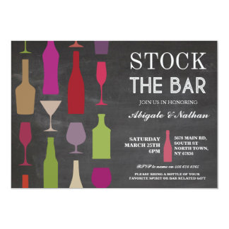 Auf Lager Sie die Bar-Kreide-Flaschen-Party Karte