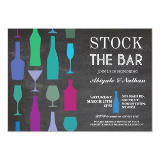 Auf Lager Sie die Bar-Kreide-Marine-Flaschen-Party Karte