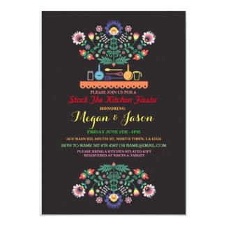 Auf Lager Sie die Küchen-Fiesta-Mexiko-Party Karte
