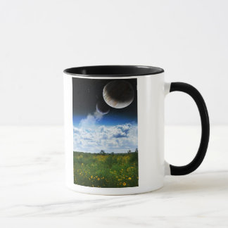 Auf meinem Planeten blühen sie Tasse
