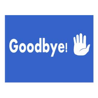 Auf Wiedersehen! Postkarte