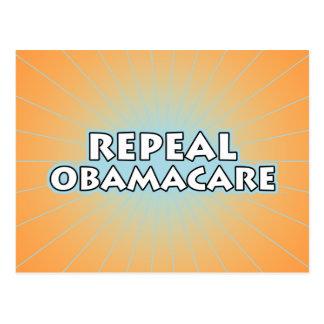 Aufhebung Obamacare Postkarte