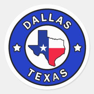 Aufkleber Dallas Texas