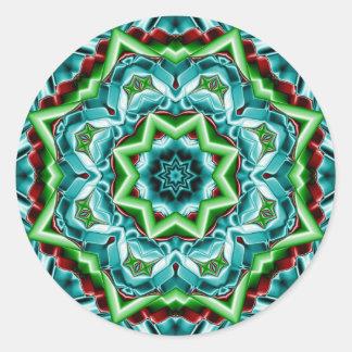 Aufkleber des Kaleidoskop-Entwurfs-No.T4R