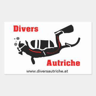 Aufkleber Divers Autriche