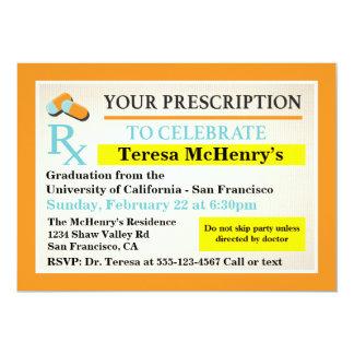 Aufkleber Krankenschwester-Doktors Medical 12,7 X 17,8 Cm Einladungskarte