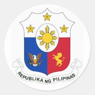 Aufkleber Republika ng Pilipinas (Wappen)