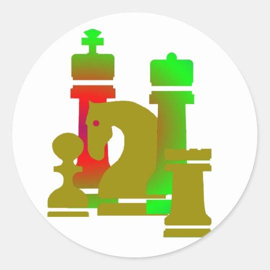 Aufkleber Schach / chess sticker