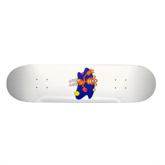 Aufprallen des alien-Clowns 19,1 Cm Old School Skateboard Deck