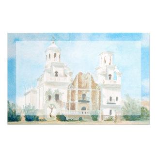 Auftrag San Xavier Del Bac Briefpapier