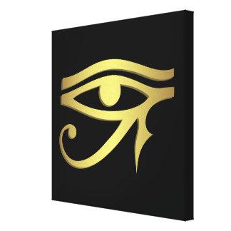 Auge des horus Ägyptersymbols Galerie Gefaltete Leinwand