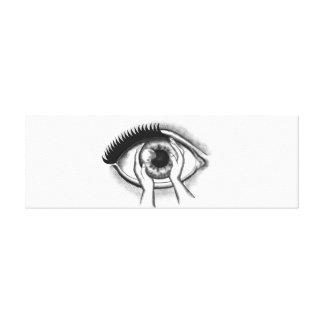 Auge Galerie Faltleinwand