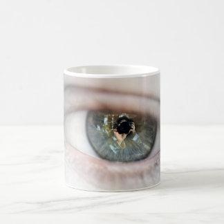 Auge-Makro durch Shirley Taylor Kaffeetasse
