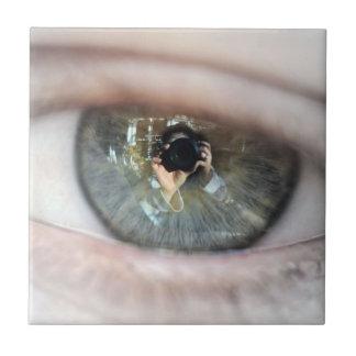 Auge-Makro durch Shirley Taylor Keramikfliese