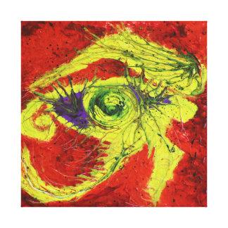 Auge von Ra Galerie Falt Leinwand