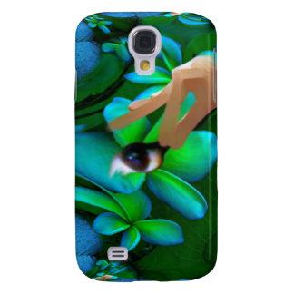 Auge wählte das Blumen-Produkt aus Galaxy S4 Hülle