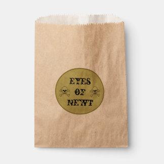 Augen der Trank-des Aufklebers der Newt-Hexe Geschenktütchen