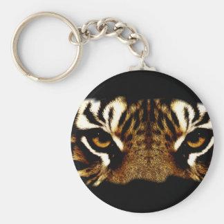Augen eines Tigers Schlüsselanhänger