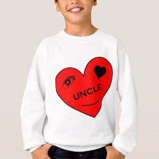 Augen-Liebe mein Onkel Sweatshirt