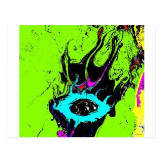 Augen-Spion 2 Postkarte