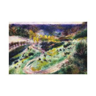 Auguste Renoir - Straße bei Wargemont Leinwanddruck