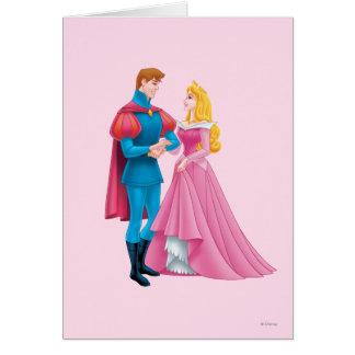 Aurora und Prinz Phillip Karte