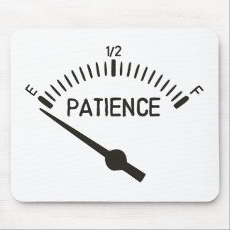 Aus Gedulds-Gas-Messgerät heraus Mousepads