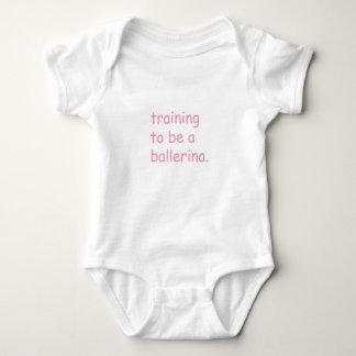 Ausbildung, zum eine Ballerina zu sein - Baby Baby Strampler