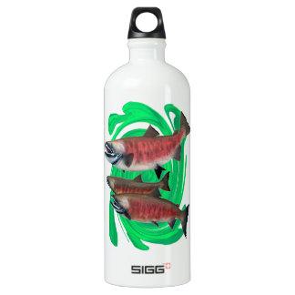 Ausdruck des Lebens Aluminiumwasserflasche