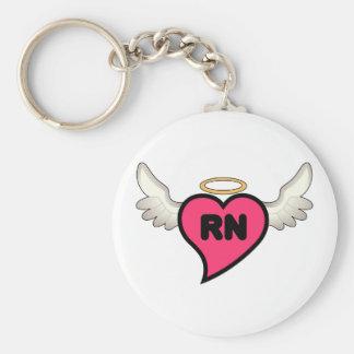 Ausgebildete Krankenschwester Schlüsselanhänger
