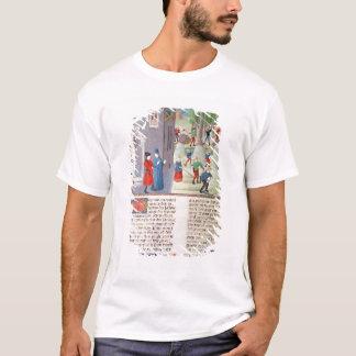 Ausschnitt-Bäume und Ernten T-Shirt