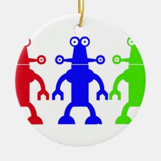 Außerirdische Rundes Keramik Ornament