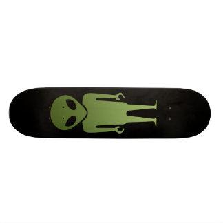 Außerirdischer alien-Körper Individuelle Skateboarddecks