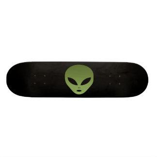 Außerirdisches alien-Gesicht 20,1 Cm Skateboard Deck