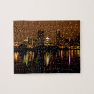Austin-Oberlicht nachts Puzzle