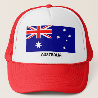Australien: Flagge von Australien Truckerkappe