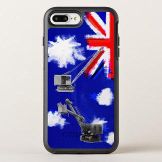 Australien-Flaggen-Kran-Betreiber-schwere OtterBox Symmetry iPhone 8 Plus/7 Plus Hülle