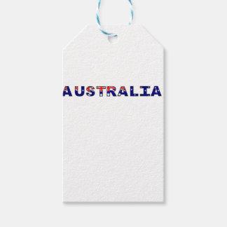 Australien Geschenkanhänger