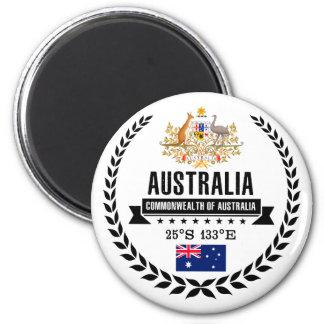 Australien Runder Magnet 5,7 Cm