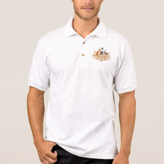 Australien-Wappen Polo Shirt