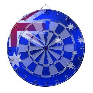 Australische Flagge Dartscheibe