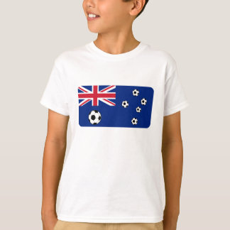 Australische Flaggen-Fußbälle T-Shirt