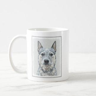 Australische Vieh-Hundemalerei - niedliche Kaffeetasse