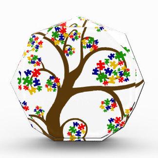 Autismus-Baum des Lebens Auszeichnung