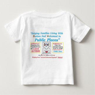 Autismus begrüßt geschaffen für Kinder mit Baby T-shirt