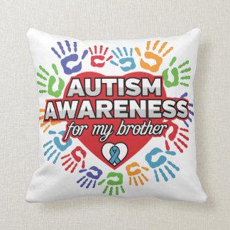 Autismus-Bewusstsein für meinen Bruder Kissen