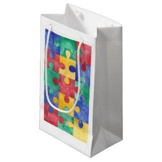 Autismus-Bewusstseinsgeschenktasche Kleine Geschenktüte