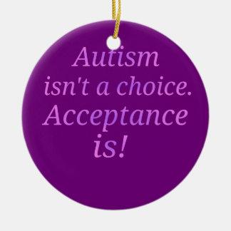 Autismus ist nicht… ein auserlesenes keramik ornament