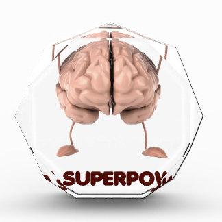 Autismus ist Supermacht, anhebendes Auszeichnung