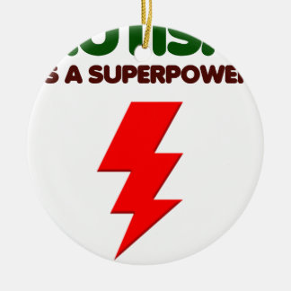 Autismus ist SuperPower, Kinder, Kinder, sich Keramik Ornament